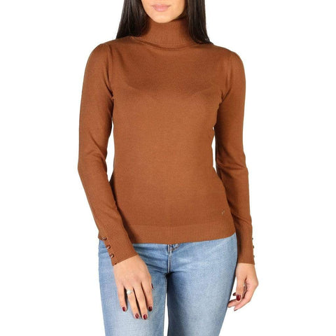 Yes Zee Vêtements Pulls brown / XS Yes Zee - 1674_M038_RU00