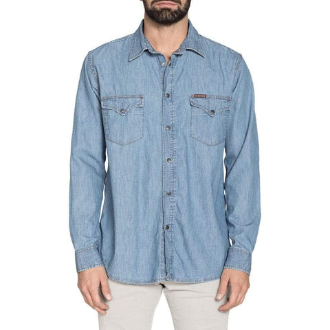 Carrera Jeans Clothing Shirts blue / S Carrera Jeans - 205-1005A