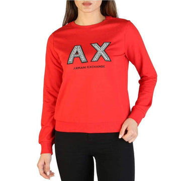 Armani Exchange Vêtements Sweat-shirts red / XS Armani Exchange - 3GYM90_YJZ6Z