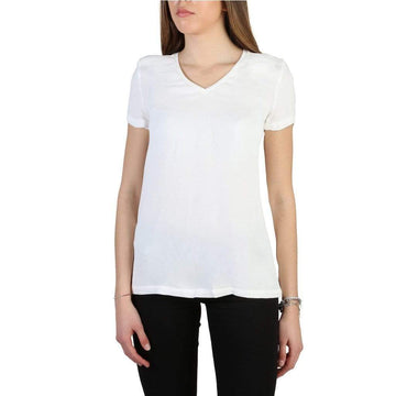 Armani Jeans Clothing T-shirts white / 42 Armani Jeans - 3Y5H43_5NYFZ