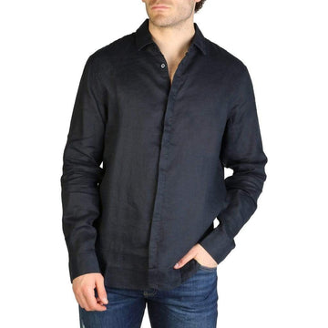 Armani Exchange Vêtements Chemises blue / XS Armani Exchange - 3ZZC27_ZNCFZ