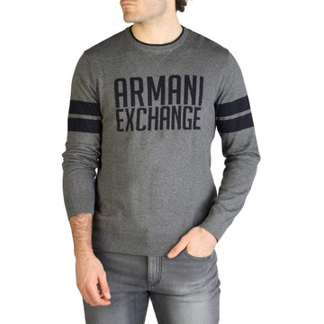 Armani Exchange Vêtements Pulls grey / XXL Armani Exchange - 3ZZM1T_ZMD8Z