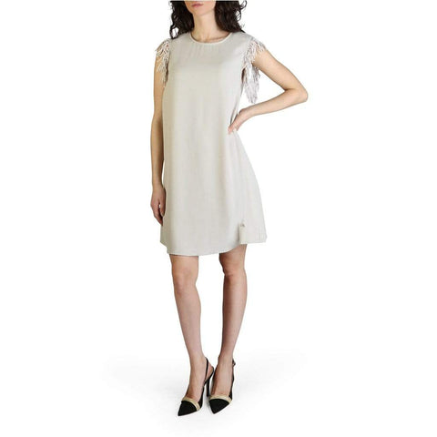 Yes Zee Clothing Dresses brown / S Yes Zee - A204_EH00