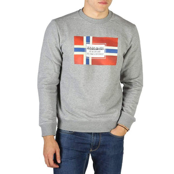 Napapijri Vêtements Sweat-shirts grey / S Napapijri - BERA