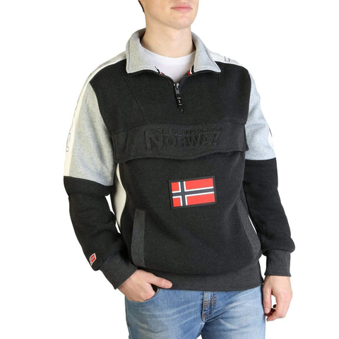 Geographical Norway Clothing Sweatshirts gray / S Geographical Norway - Fagostino007_man