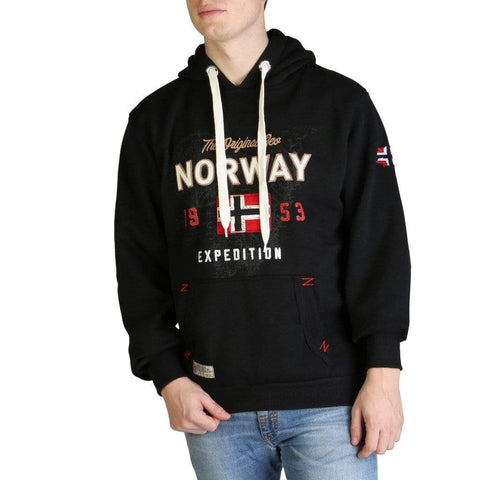 Geographical Norway Clothing Sweat-shirts black / M Geographical Norway - Guitre100_man