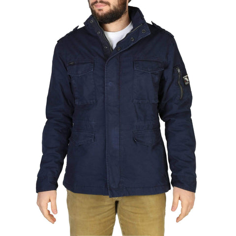 Superdry Clothing Jackets blue / S Superdry - M5010351A