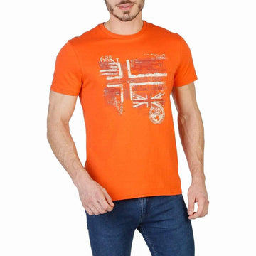 Napapijri Vêtements T-shirts orange / S Napapijri - N0YHCX