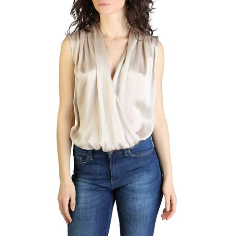 Yes Zee Clothing Top brown / M Yes Zee - T217_HT00