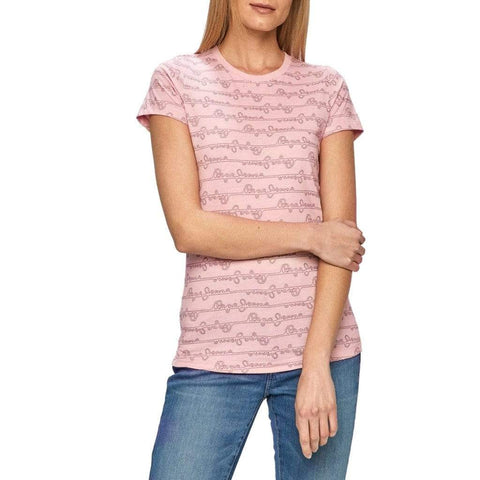 Pepe Jeans Bekleidung T-Shirts pink / XS Pepe Jeans - CECILE_PL504831