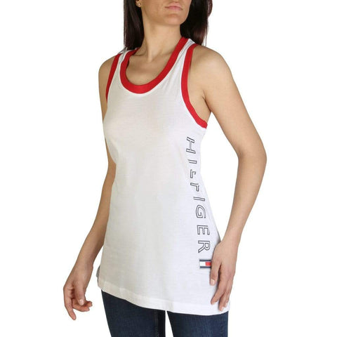 Tommy Hilfiger Clothing Tank Tops white / XS Tommy Hilfiger - XW0XW01415
