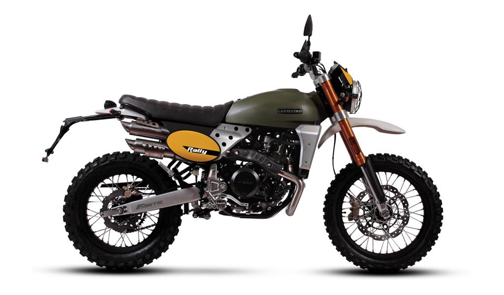 2020 Fantic Caballero Rally 500cc