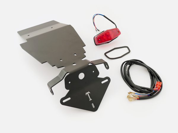 TEC - Tail Tidy/Fender Eliminator Kit with LED light and wiring