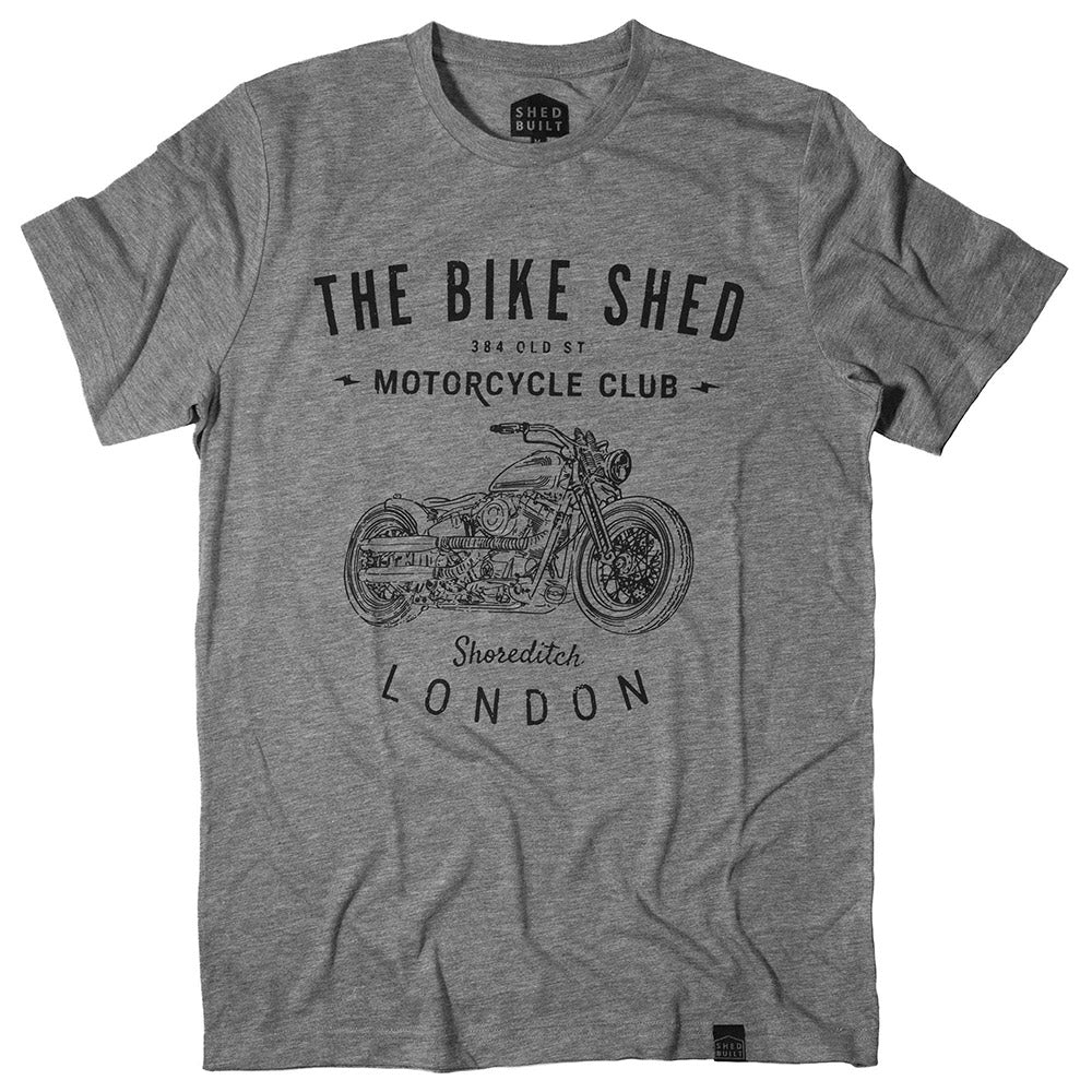 Bike Shed T-Shirt - V-Twin