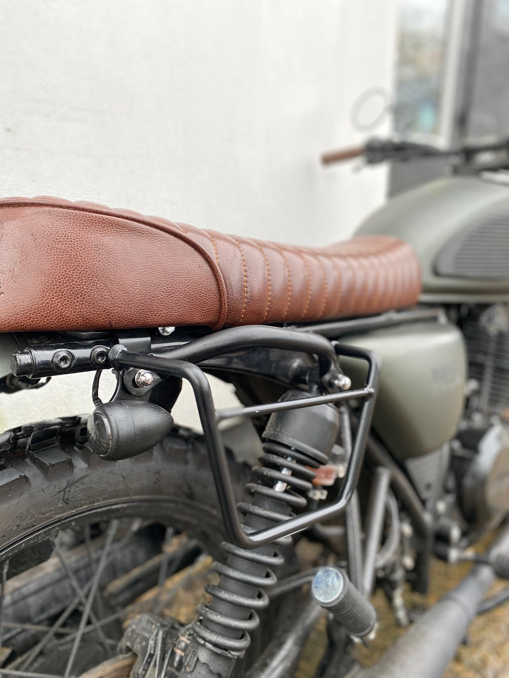 Bag Bracket - Mutt Motorcycle