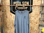 Poulson Creative - Longsleeve Embroidered