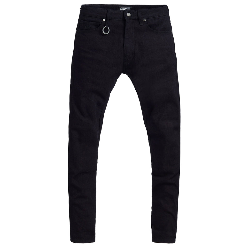 Pando Moto Jeans  - single layer - steel black