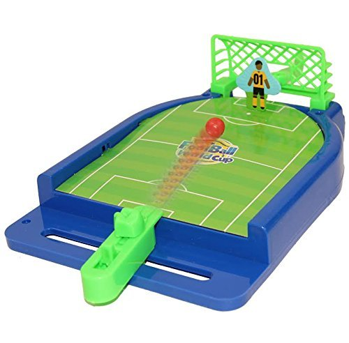 Dazzling Toys Mini Football Table Game - Miniature Game for Ages 3 and Up | Classic Mini Football Tournament Table Top Games for Sports Fans and Fanatics … …