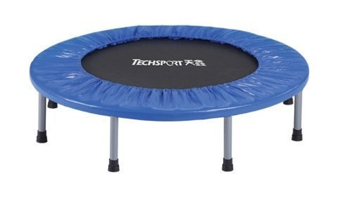 "Dazzling Toys 38"" Foldable Trampoline- Silver (D065)"