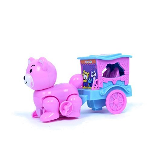 Dazzling Toys Wind-up Cat and Buggy (D230)