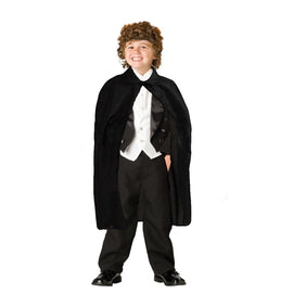 "dazzling toys 36"" Children's Black Magician Cape"
