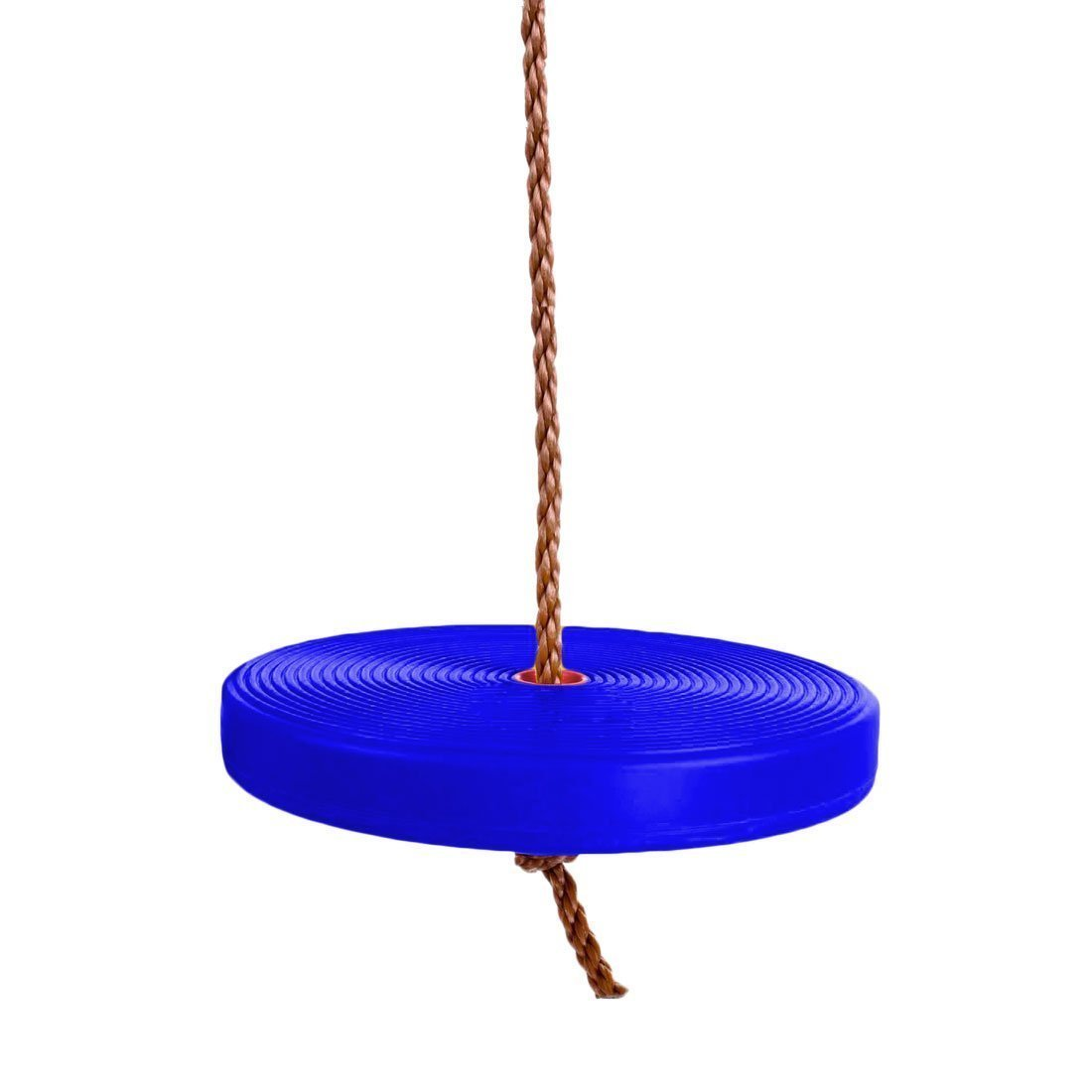 Swing | Rope Tree Swing Set | Sturdy Plastic Disc With Nylon String | Hangs From Tree | Dazzling Toys