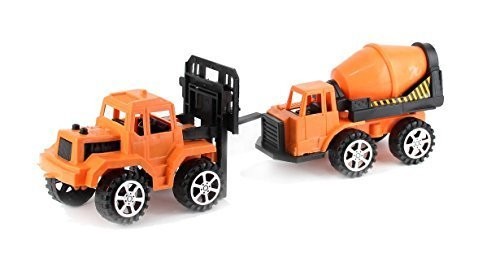 dazzling toys Set Construction Cement Bulk Truck | Great Indoor Outdoor Play