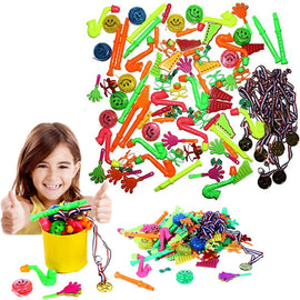 'Dazzling Toys Super Party Pack of 96 Assorted Fun Toy Party Favors