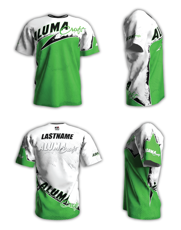 Alumacraft Personalized Short Sleeve Jersey Style 1