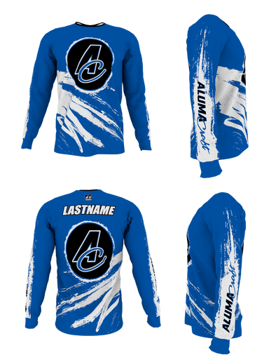 Alumacraft Personalized Long Sleeve Jersey Style 5