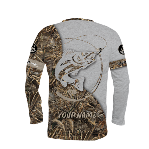 NEW FOR 2021! Alumacraft Personalized Long Sleeve Jersey Style 10
