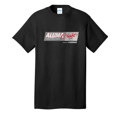 Mens Alumacraft Evinrude Co-Branded Tee - Black