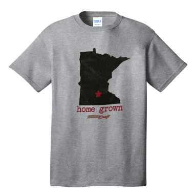 Ladies Home Grown MN Tee