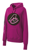 NEW! Ladies Distressed AC Logo Hoodie