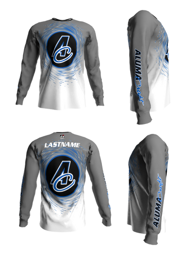 Alumacraft Personalized Long Sleeve Jersey Style 7