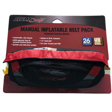 24g Manual Inflatable Belt Pack