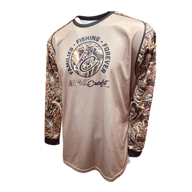 Real Tree Camo Long Sleeve Performance Tee