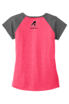 Ladies Heather on Heather Contender Tee