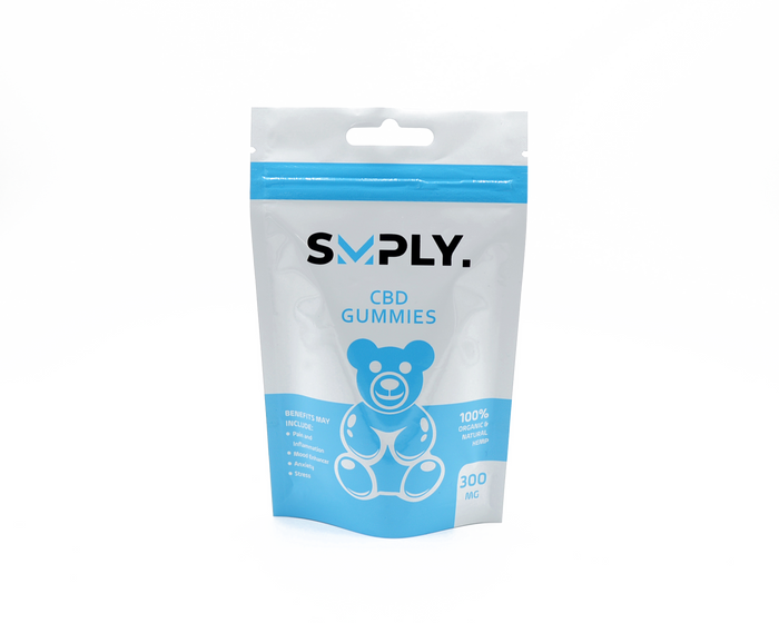 SMPLY 300 mg CBD Gummies