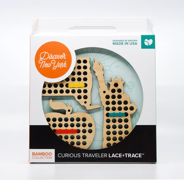 Curious Traveler Lace+Trace™ DISCOVER NEW YORK