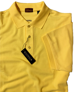 CANARY MOISTURE WICKING GOLF SHIRT