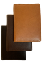 Load image into Gallery viewer, LEATHER PASSPORT COVER WITH CARD SLOTS