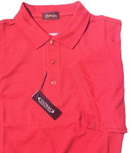 RASBERRY MOISTURE WICKING GOLF SHIRT