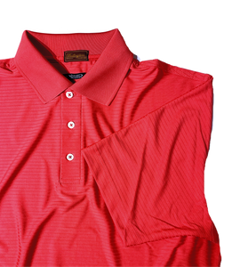 "RASPBERRY ""PRO"" PERFORMANCE DRI-FIT GOLF SHIRT"