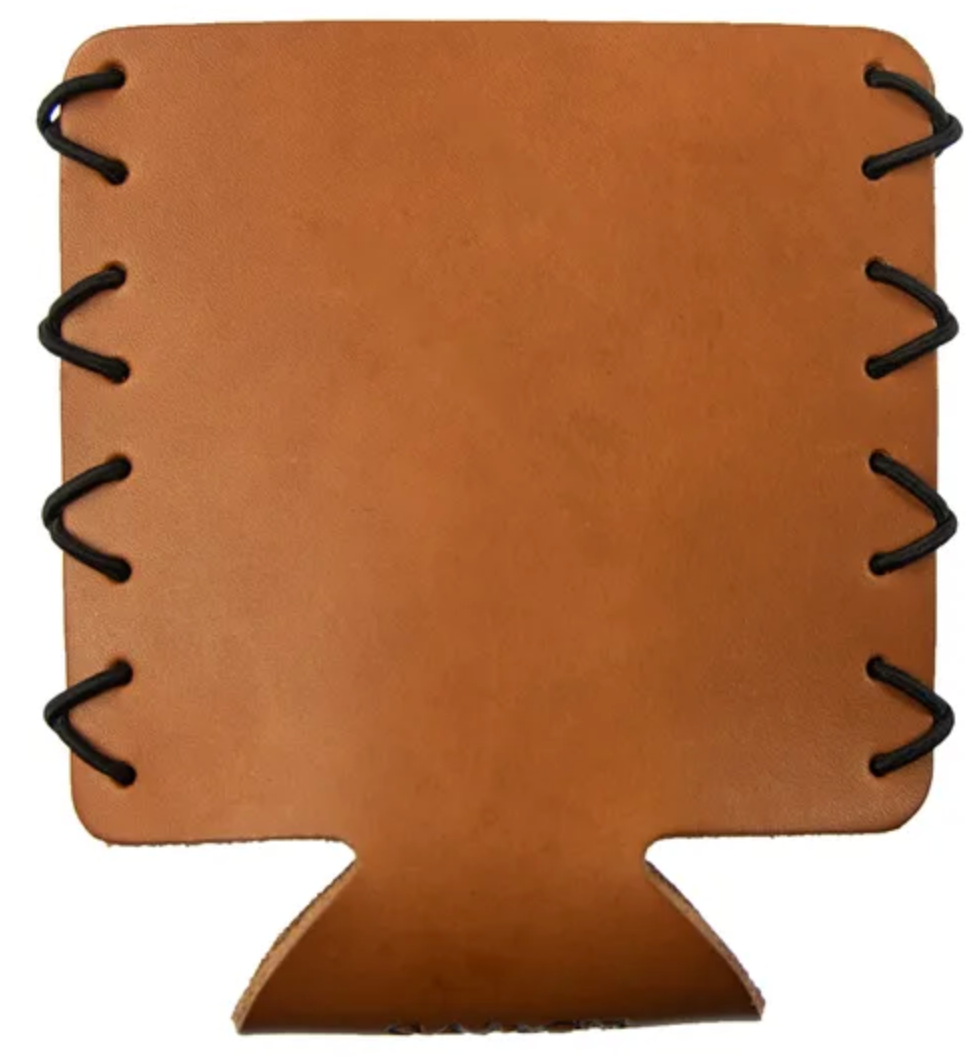 LEATHER KOOZIE