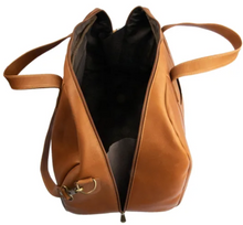 Load image into Gallery viewer, SMALL LEATHER DUFFLE BAG