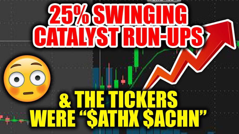 25% SWING ON BIO CATALYST RUN UPS!! $ATHX $ACHN $OTLK