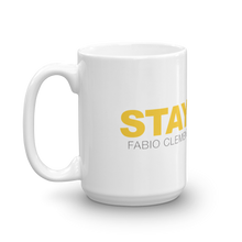 Load image into Gallery viewer, Fabio Clemente Stay Gold Coffee mug