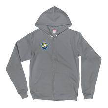 Load image into Gallery viewer, Fabio Clemente small logo zip up Hoodie