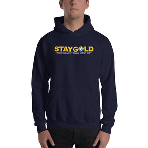 Fabio Stay Gold Hooded Sweatshirt